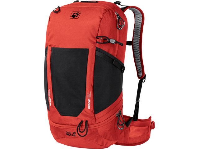Jack Wolfskin Kingston 30 Recco Rugzak, lava red